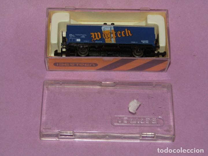 Trenes Escala: Antiguo Vagón Frigorífico 2 Ejes WARTECK Ref. 6380 en Escala *N* de IBERTREN Iber Model - Foto 3 - 241429495