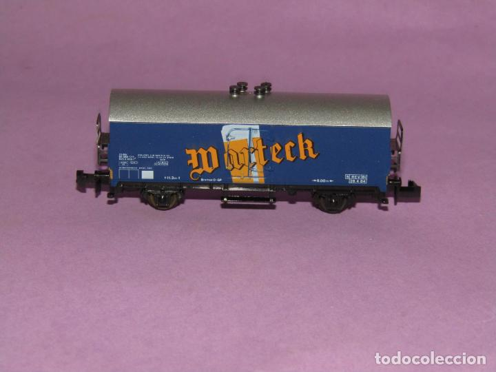 Trenes Escala: Antiguo Vagón Frigorífico 2 Ejes WARTECK Ref. 6380 en Escala *N* de IBERTREN Iber Model - Foto 4 - 241429495