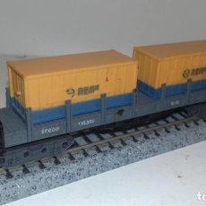 Trenes Escala: IBERTREN N TELERO CONTENEDORES RENFE -- L48-165 (CON COMPRA DE CINCO LOTES O MAS ENVÍO GRATIS). Lote 241754045
