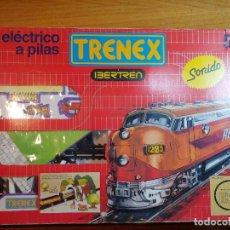 Trains Échelle: TREN A PILAS TRENEX DE IBERTREN CON SONIDO 5021 AÑOS 70 80. Lote 241921450
