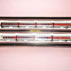 Trenes Escala: ANTIGUA COMPOSICIÓN 8 UNIDADES TALGO EN ESCALA *N* REF. 280 DE IBERTREN. Lote 244182120