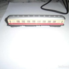 Trenes Escala: VAGON DE PASAJEROS 1ª CLASE BEIGE-ROJO DE IBERTREN ESCALA N. Lote 244410160