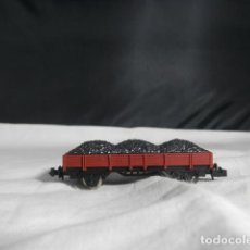 Comboios Escala: VAGÓN BORDE BAJO ESCALA N DE IBERTREN. Lote 245766715