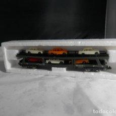 Comboios Escala: VAGÓN PORTACOCHES ESCALA N DE IBERTREN. Lote 245769025