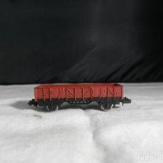 Comboios Escala: VAGÓN BORDE BAJO ESCALA N DE IBERTREN. Lote 246248120