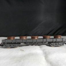 Comboios Escala: VAGÓN BOBINAS ESCALA N DE IBERTREN. Lote 246250410