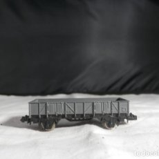 Comboios Escala: VAGÓN BORDE BAJO ESCALA N DE IBERTREN. Lote 246253470