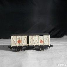Comboios Escala: VAGÓN CERRADO ESCALA N DE IBERTREN. Lote 246253710