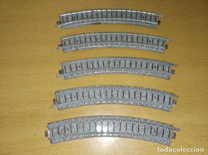 LOTE VIAS CURVAS IBERTREN ESCALA N (Juguetes - Trenes a escala N - Ibertren N)