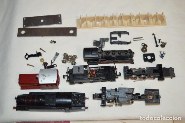 Trenes Escala: Escala - N / Lote LOCOMOTORAS y VAGONES /// IBERTREN, LIMA y FLEISCHMANN - Piezas originales ¡Mira! - Foto 3 - 248977955