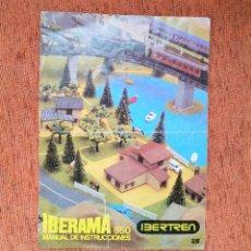 Trenes Escala: IBERTREN - INSTRUCCIONES IBERAMA 550 - ESCALA 2N - JYA120. Lote 252406655
