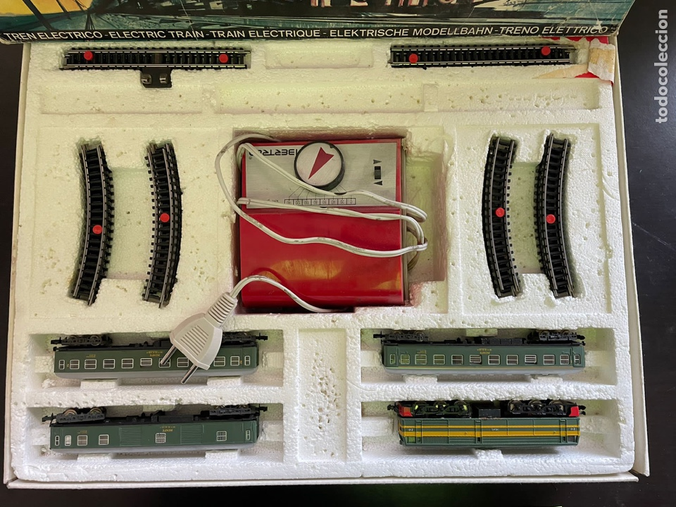 Trenes Escala: Ibertren 3N-112. Completo. Años 70 - Foto 2 - 254148315