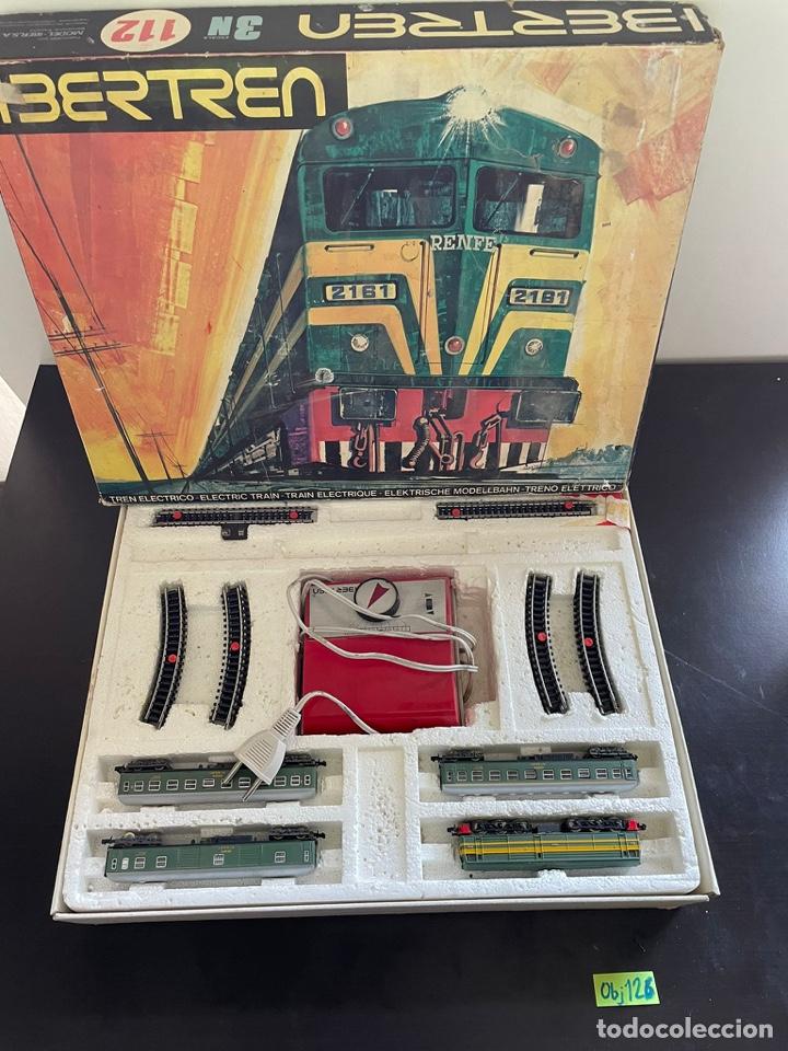 IBERTREN 3N-112. COMPLETO. AÑOS 70 (Juguetes - Trenes a escala N - Ibertren N)