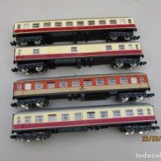 Trenes Escala: IBERTREN 4 VAGONES PASAJEROS DE LA DB VER FOTOS. Lote 254618995