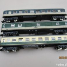 Trenes Escala: IBERTREN 3 VAGONES PASAJEROS DE LA DB. Lote 254619380