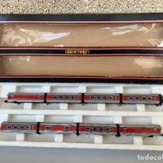 Trenes Escala: IBERTREN N SET 280 COMPOSICION VAGONES DEL TALGO. Lote 255429055