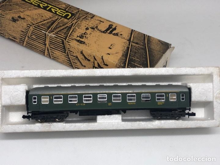 Trenes Escala: VAGON TREN PASAJEROS CON SU CAJA FABRICADO POR IBERTREN ESCALA N - Foto 2 - 255957200
