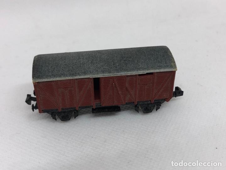 Trenes Escala: VAGON CARGA FABRICADO POR IBERTREN ESCALA N - Foto 2 - 256007405