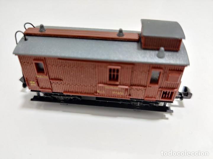 Trenes Escala: IBERTREN N - MZA FURGÓN REF. 223 - Foto 2 - 256060965