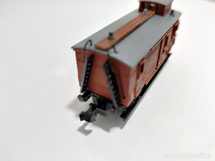 Trenes Escala: IBERTREN N - MZA FURGÓN REF. 223 - Foto 4 - 256060965