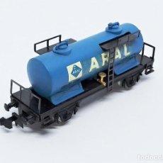 Treni in Scala: VAGÓN CISTERNA ARAL 2 EJES DE IBERTREN - SPAIN ESCALA N REF. 356. Lote 256098150