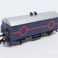 Trenes Escala: VAGÓN FRIGORÍFICO 2 EJES DE IBERTREN - SPAIN ESCALA N REF. 382. Lote 257297820