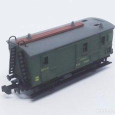 Trenes Escala: FURGÓN DE EQUIPAJES MZA VERDE 2 EJES DE IBERTREN - SPAIN ESCALA N REF. 224. Lote 257360315