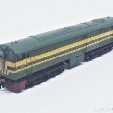 Trenes Escala: LOCOMOTORA DIESEL ALCO DE RENFE 2161 6 EJES DE IBERTREN SPAIN ESCALA N REF. 012. Lote 257398500