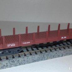 Trenes Escala: IBERTREN N TELERO 4 EJES -- L49-068 (CON COMPRA DE 5 LOTES O MAS, ENVÍO GRATIS). Lote 257691940
