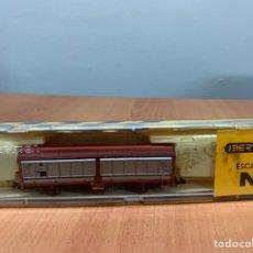 Trenes Escala: VAGÓN IBERTREN DE CARGA. ESCALA N. Lote 259839760
