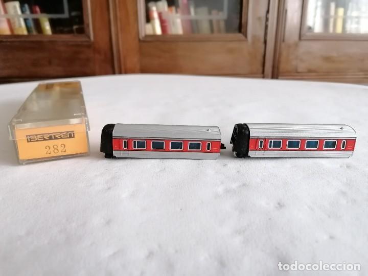 IBERTREN N 282 PAR DE COCHES 1ª CLASE TALGO RENFE PERFECTO ESTADO OVP (Juguetes - Trenes a escala N - Ibertren N)