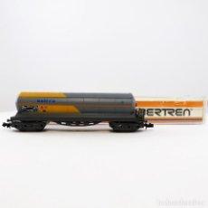 Treni in Scala: IBERTREN REF. 6370 VAGÓN CISTERNA 4 EJES BUTANO, DE LA COMPAÑÍA SALTRA ESCALA 1/160 N. Lote 263178870