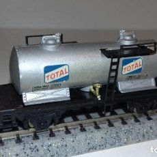 Trenes Escala: IBERTREN N CISTERNA 2 EJES TOTAL -- L48-276 (CON COMPRA DE 5 LOTES O MAS, ENVÍO GRATIS). Lote 264416869