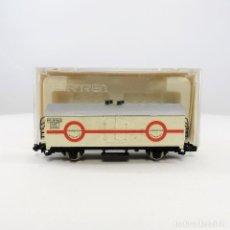 Trenes Escala: IBERTREN REF. 381 VAGÓN FRIGORÍFICO 2 EJES TRANSFESA BLANCO. ESCALA 1:160 N. Lote 264474114