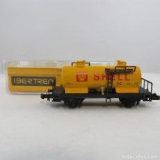 Trenes Escala: IBERTREN REF. 352 VAGÓN CISTERNA 2 EJES SHELL. ESCALA1/ 160 N. Lote 262797790