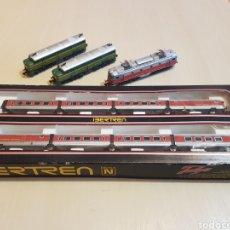 Treni in Scala: IBERTREN TALGO REF 280 Y LOTE DE MAQUINAS. Lote 268161249