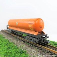 Trenes Escala: IBERTREN REF. 361 VAGON CISTERNA 4 EJES BUTANO,ESCALA 1/160 N (513). Lote 269327298