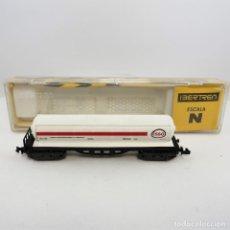 Trenes Escala: IBERTREN REF. 364 VAGON CISTERNA 4 EJES ESSO,ESCALA 1/160 N (513). Lote 269372143