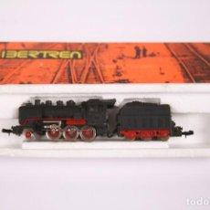 Trenes Escala: LOCOMOTORA A VAPOR CON TENDER - IBERTREN ESCALA 3N - CAJA ORIGINAL. Lote 269593538