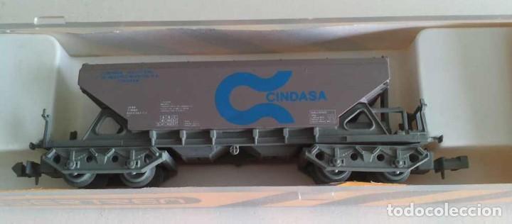 """VAGON TOLVA 4 EJES """"CINDASA"""" - IBERTREN 6485 (Juguetes - Trenes a escala N - Ibertren N)"""