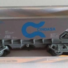 """Trenes Escala: VAGON TOLVA 4 EJES """"CINDASA"""" - IBERTREN 6485. Lote 276092823"""