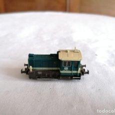 Trenes Escala: IBERTREN N 6979 LOCOMOTORA TRACTORA BR 333 KÖFF DB ALEMANA. Lote 276611378