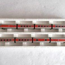 Trenes Escala: IBERTREN N TREN TALGO III RD - 8 VAGONES PERFECTO ESTADO. Lote 276631013