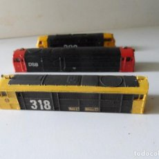 Trenes Escala: 3 CARCASAS REPINTADAS RENFE 320 318 DSB ESCALA N. Lote 276731033
