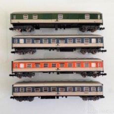 Trenes Escala: IBERTREN. LOTE FURGON VAGON COCHE PASAJEROS DB. ESCALA N. Lote 278572583