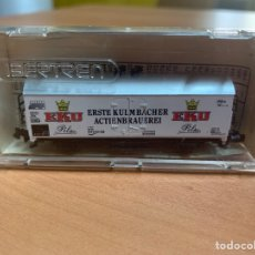 Trenes Escala: VAGÓN DE MERCANCÍAS CERRADO IBERTREN ESCALA N.. Lote 278948623