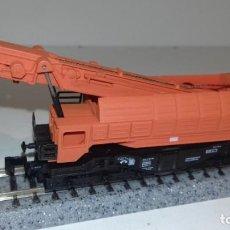 Trenes Escala: IBERTREN N GRUA -- L50-090 (CON COMPRA DE 5 LOTES O MAS, ENVÍO GRATIS). Lote 279442473