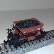 Trenes Escala: IBERTREN N VAGONETA CARBÓN -- L50-091 (CON COMPRA DE 5 LOTES O MAS, ENVÍO GRATIS). Lote 279442613