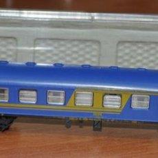 Trenes Escala: COCHE DE VIAJEROS 4 EJES 2ª CLASE NUEVA IMAGEN RENFE DE IBERTREN, REF. 230. ESCALA N. Lote 280695918