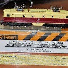 Trains Échelle: LOCOMOTORA ELÉCTRICA ALSTHOM ROJO Y MARFIL DE LA DB DE IBERTREN, REF. 018. ESCALA 3N.. Lote 280698883